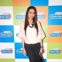 Karisma Kapoor visited Radio City 91.1 FM studio to promote her upcoming thriller, 'Dangerous Ishq.' | Dangerous Ishq Event Photo Gallery
