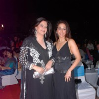 Kunika and Krishika Lulla at Sailor Today Awards