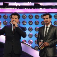 Jay Bhanusali and Anil Kapoor at Dance India Dance Season 3 Grand Finale in Mumbai