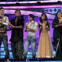 Raghav, Terence, Pradeep, Rajasmita & Geeta at Dance India Dance Season 3 Grand Finale in Mumbai