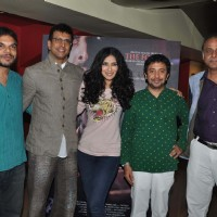Nandana Sen, Ashvin Kumar & Javed Jaffrey at Ritu Kumar's son Ashvin Kumar's Rainforest film preview