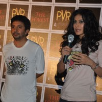 Ashvin Kumar and Nandana Sen at 'The Forest' Movie First Look launch