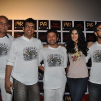 Tarun Kumar,Javed Jaaferi,Ashvin Kumar,Nandana & Ankur Vikal at 'The Forest' Movie First Look launch