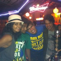 Kunwar Amarjeet Singh with Shakti Mohan, Macedon Dmello and Archie in Goa