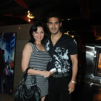 Deepshika and Kaishav Arora at Premiere of film Tezz