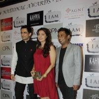 Sanjay Suri, Juhi Chawla and Onir at 'I Am' National Award winning bash | I Am Event Photo Gallery