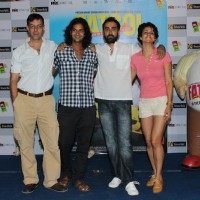 Rajat Kapoor, Purab Kohli, Ranvir Shorey and Gul Panag at Fatso film promotions at Inorbit Mall | Fatso Event Photo Gallery