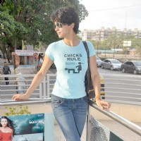 Gul Panag at Fatso stars sell tickets at PVR | Fatso Event Photo Gallery