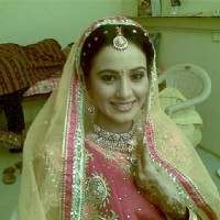 Heena Parmar on sets of Haar Jeet