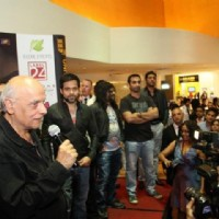 The team of Jannat 2 at the premiere of Jannat 2 at Diera City Centre Dubai | Jannat 2 Event Photo Gallery