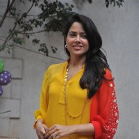 Sameera Reddy at Shilpa Shetty Baby Shower function
