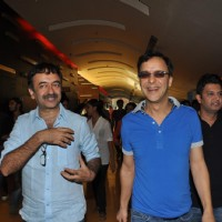 Rajkumar Hirani, Vidhu Vinod Chopra and Bhushan Kumar at First Look Film 'Ferrari Ki Sawari' | Ferrari Ki Sawaari Event Photo Gallery