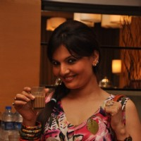 Deepshika at the new collection unveiling of designer Anita More