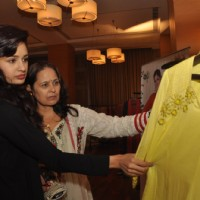 Yuvika Choudhary at the new collection unveiling of designer Anita More