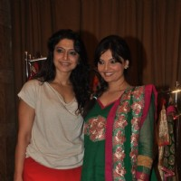 Akruti Mistry & Deepshika at the new collection unveiling of designer Anita More