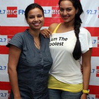 Sonakshi Sinha promotes film ROWDY RATHORE at 92.7 BIG FM Studios | Rowdy Rathore Event Photo Gallery