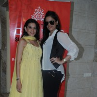 Smita Bansal & Urvee Adhikaari at Urvee Adhikaari's new collection for Canvas-Summer shopping bazaar