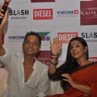 Sujoy Ghosh and Vidya Balan at Kahaani DVD launch | Kahaani Event Photo Gallery