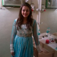 Priyal Gor on the set of Dekha Ek Khwab
