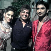 Sushant Singh Rajput, Ankita Lokhande With Their Hair Dresser