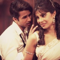 Priyanka and Shahid in Teri Meri Kahani
