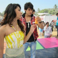Sneha Kapoor and Kunwar Amar in Goa