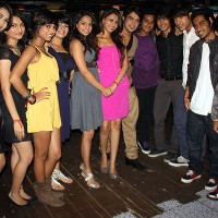 Sneha and Shantanu with all D3 members