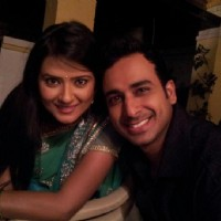 Kratika with Sarwar Ahuja