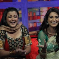 Rati Pandey & Smita Singh on Sab tv show Movers & Shakers