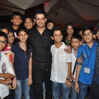 Sharman Joshi and Ritwik Sahore at Film Ferrari Ki Sawaari Kids Special Screening | Ferrari Ki Sawaari Event Photo Gallery