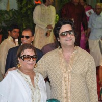 Fardeen Khan with mother Sundari at Esha Deol and Bharat Takhtani wedding ceremony