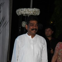 Nitin Chandrakant Desai at Esha Deol's Wedding Reception
