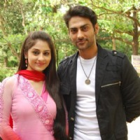 Ankita Sharma with Navi Bhangu