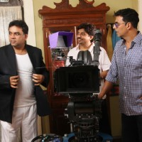 Akshay Kumar and Paresh Rawal on the sets of movie OMG! Oh My God