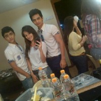 Yuraj Thakur with Heli, Rohan at HHL shoot