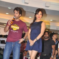 Bollywood actor Tusshar Kapoor and bollywood actress Neha Sharma at Lawman PG3 fashion show in Mumbai for promotion of the film 'Kya Super Kool Hain Hum'. . | Kyaa Super Kool Hain Hum Event Photo Gallery