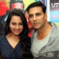 Akshay Kumar and Sonakshi Sinha at DVD launch of 'Rowdy Rathore' | Rowdy Rathore Event Photo Gallery