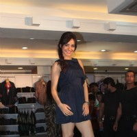 Bollywood actors Tusshar Kapoor & Neha Sharma poses during the Lawman Pg3 associates with Kya Super Kool Hain Hum in Mumbai | Kyaa Super Kool Hain Hum Event Photo Gallery