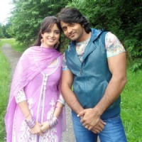 Ekta Kaul with Ashish sharma