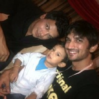 Sushant Singh Rajput and Mahesh Shetty