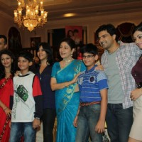 Keerti Nagpure, Anmol, Ekta Kapoor, Aroona Irani, Apurva at Press Conference of Parichay