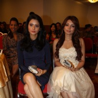 Aamna Shariff and Shama Sikander at International Diamond Day