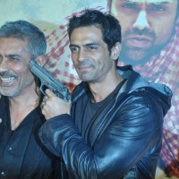 Bollywood actor Arjun Rampal at the launch of Prakash Jha's 'Chakravyuh' in Cinemax, Mumbai. . | Chakravyuh Event Photo Gallery