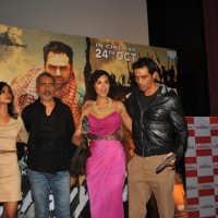 Abhay Deol, Anjali, Prakash Jha, Esha & Arjun Rampal at Unveiling of forthcoming film Chakravyuh | Chakravyuh Event Photo Gallery