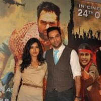 Anjali Patil and Abhay Deol at Unveiling of forthcoming film Chakravyuh | Chakravyuh Event Photo Gallery