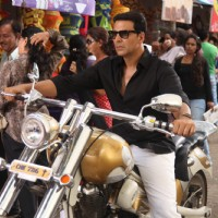 Divine Bike For Akshay Kumar In OMG Oh MyGod | OMG! Oh My God Photo Gallery