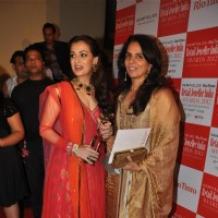 Dia Mirza and Anita Dongre at Gemfields' & Rio Tinto's Retail Jeweller India Awards 2012