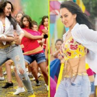 Sonakshi Sinha performing on Go Go Govinda in Oh My God! | OMG! Oh My God Photo Gallery