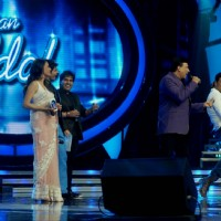Akshay Kumar, Anu Malik at Music launch Of OMG Oh My God! On Indian Idol | OMG! Oh My God Event Photo Gallery