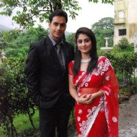 Ankita Sharma and Waseem Mushtaq